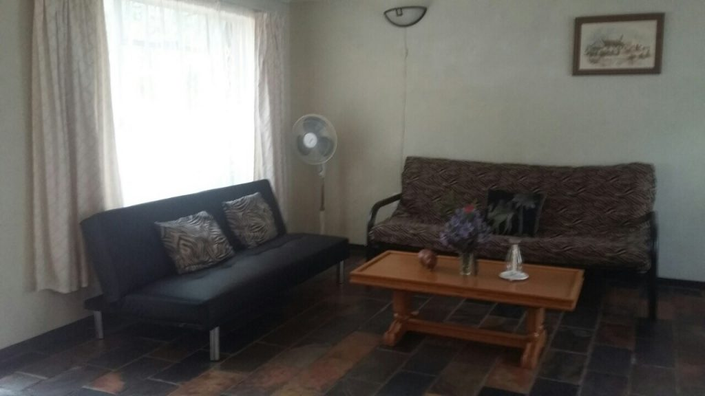 Facilities -4 Sitting area with 1 double and 1 single sofa beds